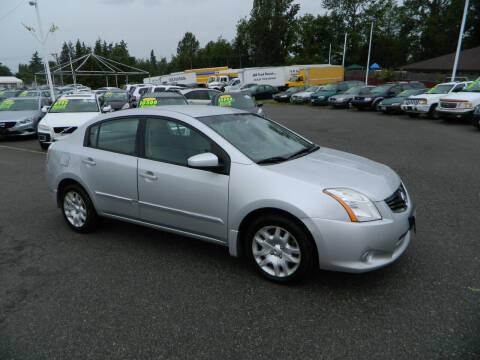 2012 Nissan Sentra for sale at J & R Motorsports in Lynnwood WA