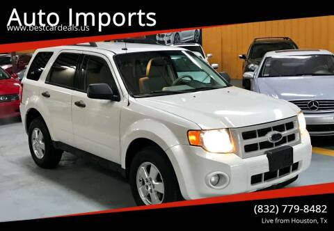 2011 Ford Escape for sale at Auto Imports in Houston TX