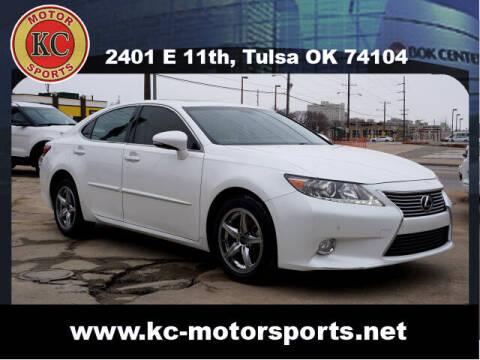 2013 Lexus ES 350 for sale at KC MOTORSPORTS in Tulsa OK