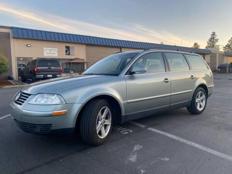 2004 Volkswagen Passat for sale at Exelon Auto Sales in Auburn WA