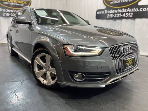 2015 Audi Allroad for sale at TRADEWINDS MOTOR CENTER LLC in Cleveland OH
