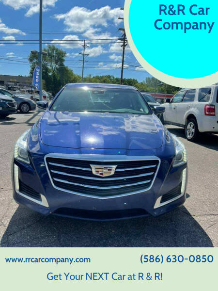 2015 Cadillac CTS for sale at R&R Car Company in Mount Clemens MI