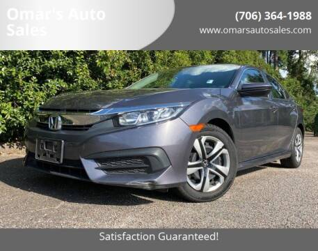 2017 Honda Civic for sale at Omar's Auto Sales in Martinez GA