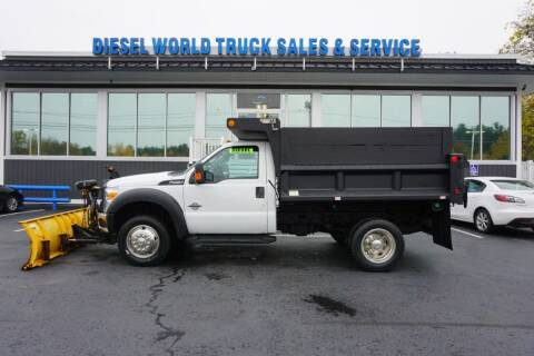 2014 Ford F-450 Super Duty for sale at Diesel World Truck Sales in Plaistow NH