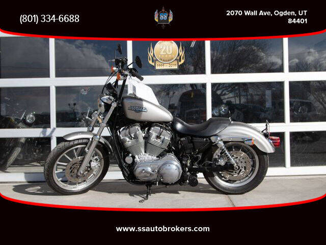 2008 Harley-Davidson XL883 Sportster Low for sale at S S Auto Brokers in Ogden UT