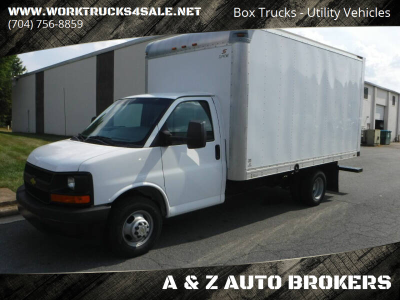 2017 Chevrolet Express Cutaway for sale at A & Z AUTO BROKERS in Charlotte NC