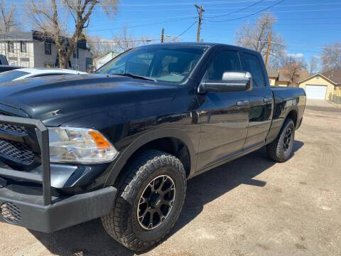 2015 RAM Ram Pickup 1500 for sale at PYRAMID MOTORS AUTO SALES in Florence CO
