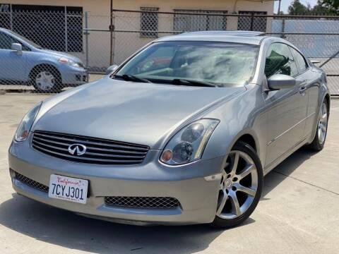 2004 Infiniti G35 for sale at Gold Coast Motors in Lemon Grove CA