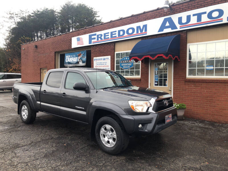 2014 Toyota Tacoma for sale at FREEDOM AUTO LLC in Wilkesboro NC