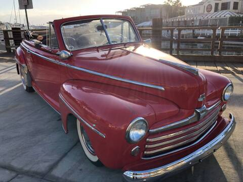 1948 Ford Convertible for sale at Elite Dealer Sales in Costa Mesa CA