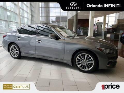 2018 Infiniti Q50 for sale at Orlando Infiniti in Orlando FL