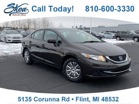 2014 Honda Civic for sale at Jamie Sells Cars 810 - Linden Location in Flint MI