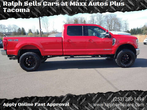 2018 Ford F-350 Super Duty for sale at Ralph Sells Cars at Maxx Autos Plus Tacoma in Tacoma WA
