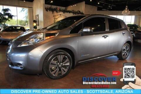 2015 Nissan LEAF for sale at Discover Pre-Owned Auto Sales in Scottsdale AZ