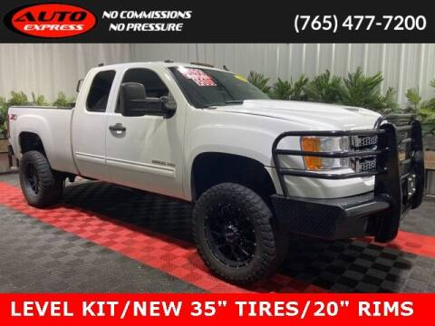 2013 GMC Sierra 2500HD for sale at Auto Express in Lafayette IN