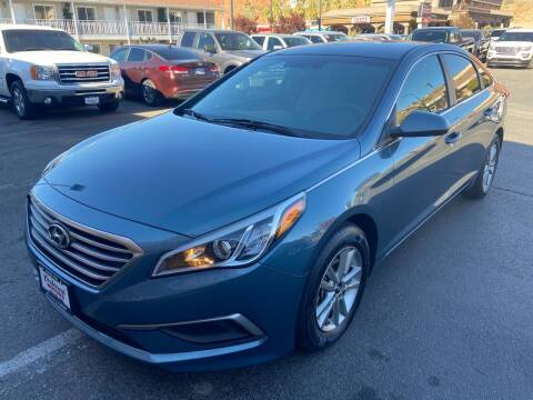 2017 Hyundai Sonata for sale at Boulevard Motors in St George UT
