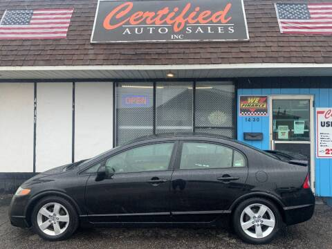 2006 Honda Civic for sale at Certified Auto Sales, Inc in Lorain OH