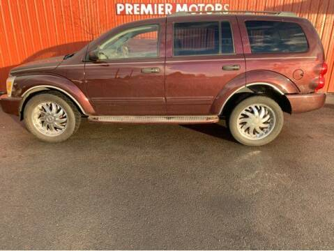 2005 Dodge Durango for sale at PremierMotors INC. in Milton Freewater OR