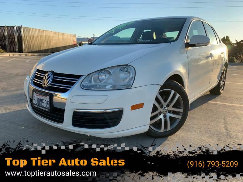 2006 Volkswagen Jetta for sale at Top Tier Auto Sales in Sacramento CA