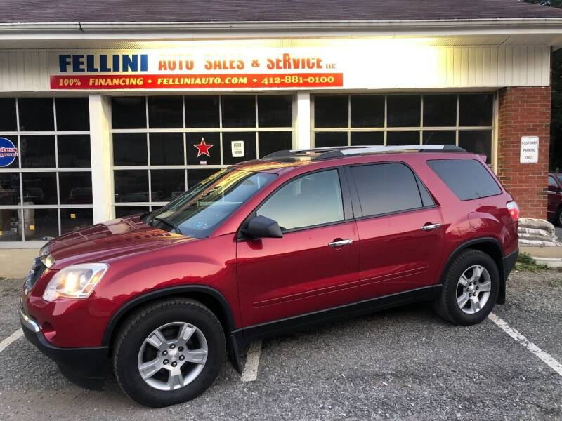 2012 GMC Acadia for sale at Fellini Auto Sales & Service LLC in Pittsburgh PA