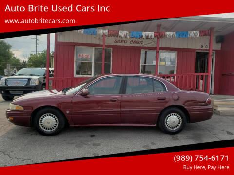 2000 Buick LeSabre for sale at Auto Brite Used Cars Inc in Saginaw MI