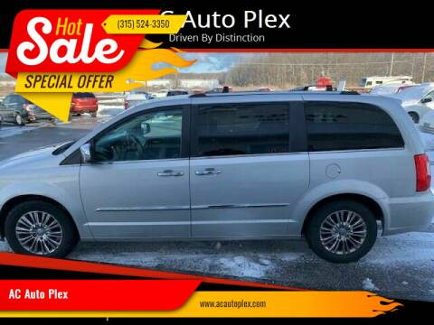 2011 Chrysler Town and Country for sale at AC Auto Plex in Ontario NY