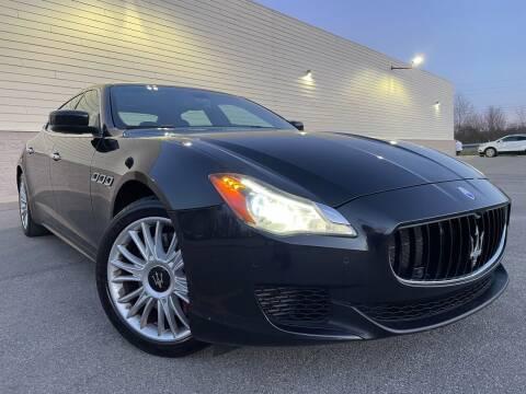 2014 Maserati Quattroporte for sale at Trocci's Auto Sales in West Pittsburg PA