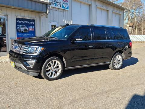 2018 Ford Expedition MAX for sale at Medway Imports in Medway MA