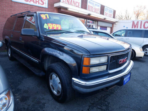 1997 GMC Suburban for sale at MICHAEL ANTHONY AUTO SALES in Plainfield NJ