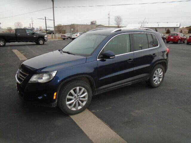 2011 Volkswagen Tiguan for sale at SWENSON MOTORS in Gaylord MN