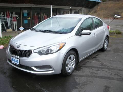2014 Kia Forte for sale at Brinks Car Sales in Chehalis WA