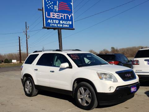 2011 GMC Acadia for sale at Liberty Auto Sales in Merrill IA