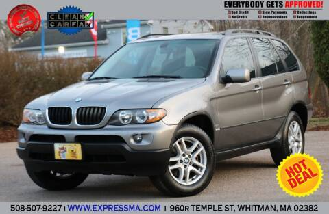 2005 BMW X5 for sale at Auto Sales Express in Whitman MA
