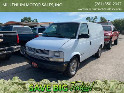1998 Chevrolet Astro Cargo for sale at MILLENIUM MOTOR SALES, INC. in Rosenberg TX