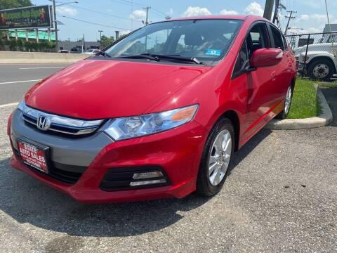 2014 Honda Insight for sale at STATE AUTO SALES in Lodi NJ