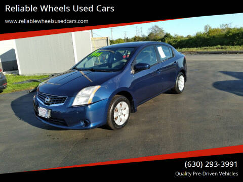 2011 Nissan Sentra for sale at Reliable Wheels Used Cars in West Chicago IL