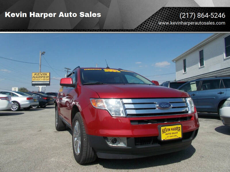 2010 Ford Edge for sale at Kevin Harper Auto Sales in Mount Zion IL