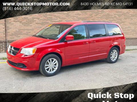 2014 Dodge Grand Caravan for sale at Quick Stop Motors in Kansas City MO