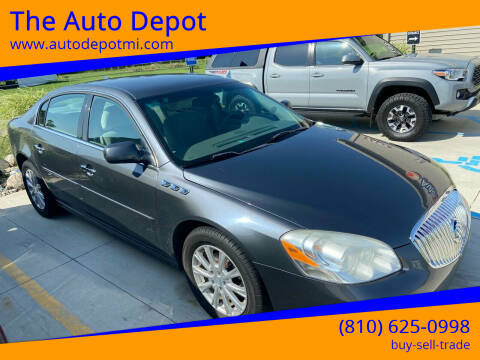 2011 Buick Lucerne for sale at The Auto Depot in Mount Morris MI