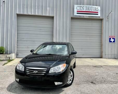 2010 Hyundai Elantra for sale at CTN MOTORS in Houston TX