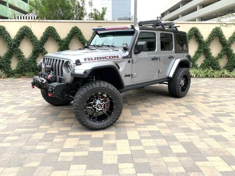 2019 Jeep Wrangler Unlimited for sale at ROGERS MOTORCARS in Houston TX