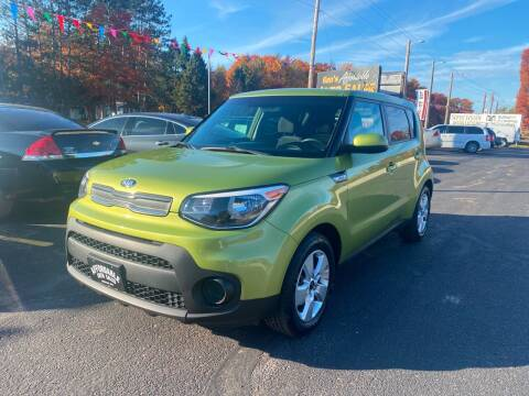 2018 Kia Soul for sale at Affordable Auto Sales in Webster WI