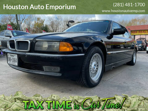1997 BMW 7 Series for sale at Houston Auto Emporium in Houston TX