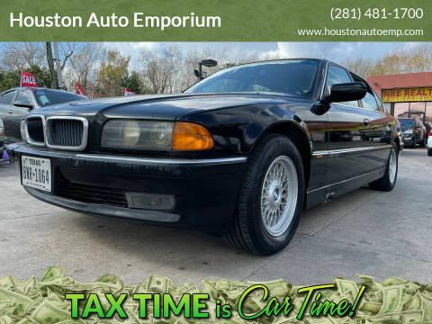 1997 BMW 7 Series for sale at Houston Auto Emporium in Houston TX