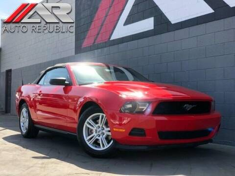 2012 Ford Mustang for sale at Auto Republic Fullerton in Fullerton CA
