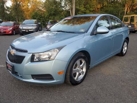 2012 Chevrolet Cruze for sale at CENTRAL GROUP in Raritan NJ
