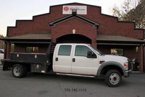 2008 Ford F-450 Super Duty for sale at Atlanta Auto Brokers in Cartersville GA