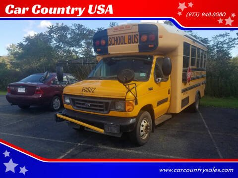 2005 Ford E-450 for sale at Car Country USA in Augusta NJ