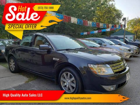 2009 Ford Taurus for sale at High Quality Auto Sales LLC in Bloomingdale NJ