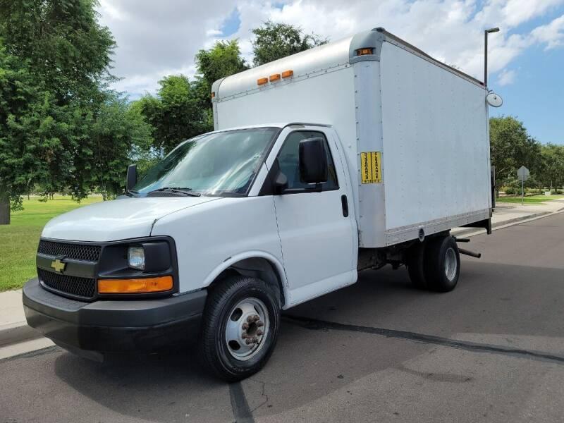 2012 Chevrolet Express Cutaway for sale at AZ Work Trucks And Vans in Mesa AZ